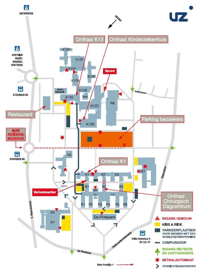 Campusplan-beeld